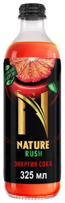 Тонизирующий напиток NATURE RUSH Энергия сока Красный грейпфрут