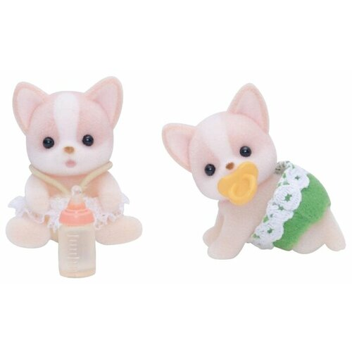 Купить Фигурки Sylvanian Families Чихуахуа-двойняшки 3242, Игровые наборы и фигурки