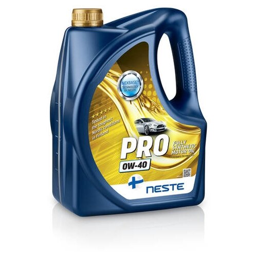 Моторное масло Neste Pro 0W-40 4 л