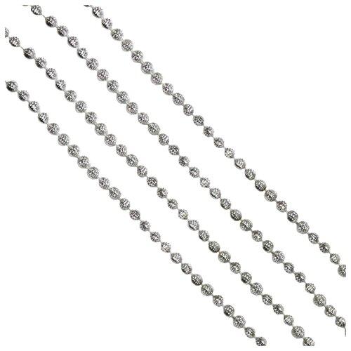 Гирлянда Феникс Present Маскарад 270 x 0.7 см, серебряный гирлянда lira 270 см