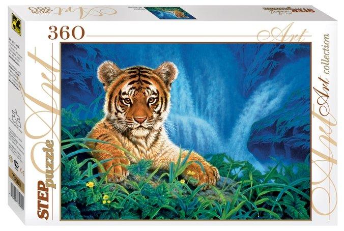 Пазл Step puzzle Art Collection Тигрёнок (73060), 360 дет.