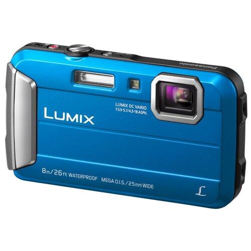 Фото - Фотоаппарат Panasonic Lumix DMC-FT30 синий фотоаппарат