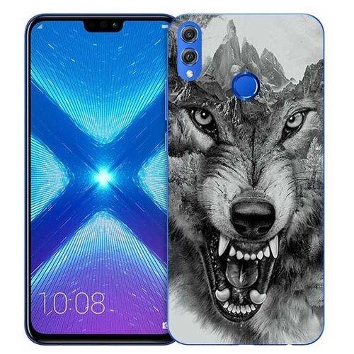 Купить Чехол Gosso 731961 для Honor 8X волк в горах