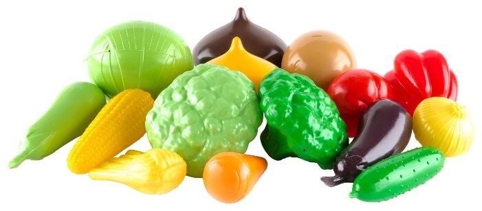 Набор продуктов Пластмастер Большой набор овощей 21049