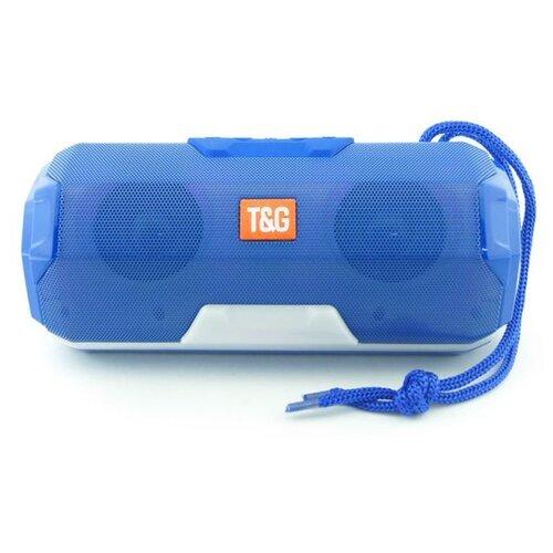 Портативная акустика T&G TG143 синий st t g tucker sanctus