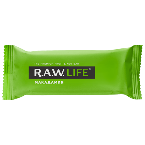 Фруктовый батончик R.A.W. Life без сахара Макадамия 47 г фруктовый батончик r a w life без сахара макадамия 47 г