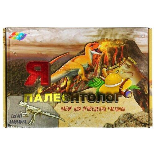 Купить Набор для раскопок Color Kit Аллозавр (DN004), Наборы для исследований