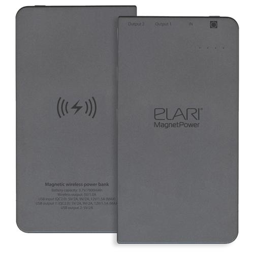 Купить Аккумулятор Elari MagnetPower 7800 черный