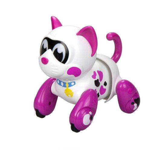 Купить Интерактивная игрушка робот Silverlit YCOO n'Friends Кошка Муко Белый/розовый/розовый, Роботы и трансформеры