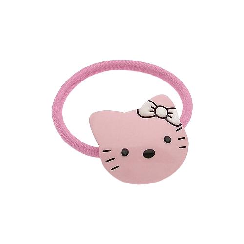 Резинка Magie Accessoires с декоративным элементом Hello Kitty (652361) розовыйРезинки, ободки, повязки<br>