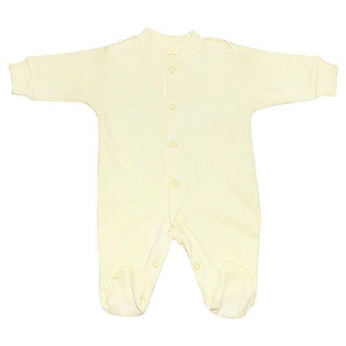 Комбинезон Клякса 37-526 размер 74, желтый комбинезон клякса 37 526 размер 56 голубой