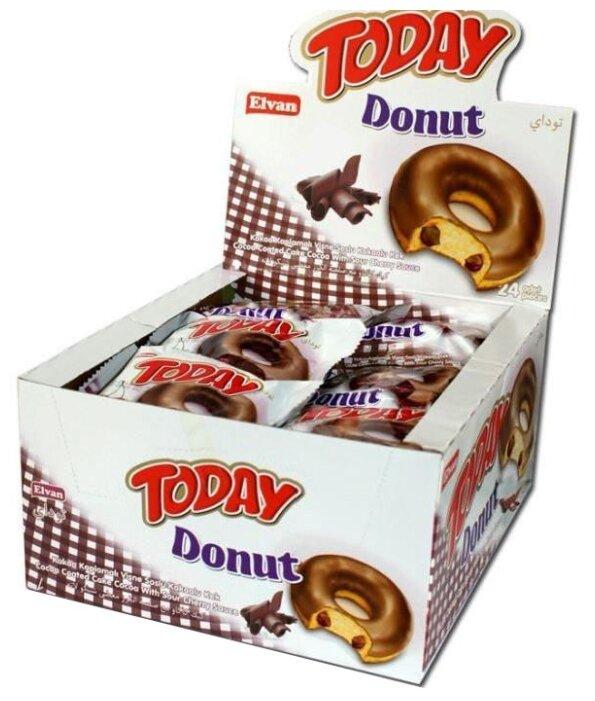 Пончик «Today Donut cacao» 50 гр