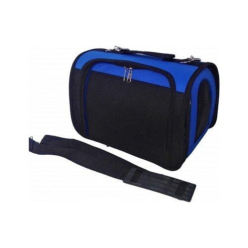 Переноска-сумка для кошек и собак LOORI Z8234/Z8272 40х25х27 см синий переноска сумка для кошек и собак loori z8708 z8746 46х28х29 см розовый