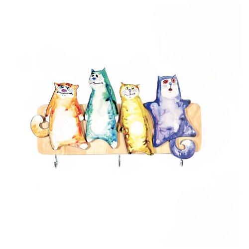Фото - Ключница elf Четыре товарища, 23.8 х 14.2 см разноцветный ключница art east фсин 29 33 см