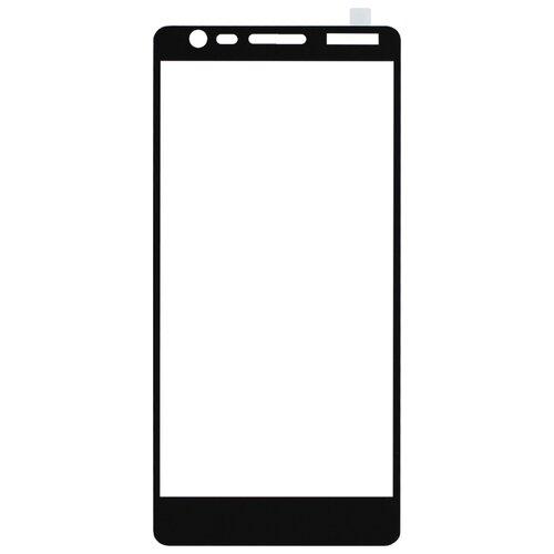 Защитное стекло Volare Rosso Fullscreen full glue для Nokia 3.1 (2018) черныйЗащитные пленки и стекла<br>