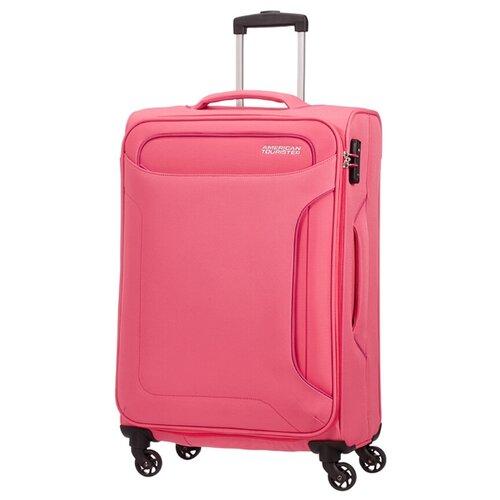 Чемодан American Tourister Holiday Heat 66 л, розовый
