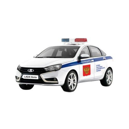 Купить Легковой автомобиль Autotime (Autogrand) Lada Vesta Полиция (68332) 1:36 белая, Машинки и техника