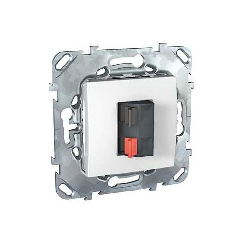 Телекоммуникационная розетка Schneider ElectricMGU5.486.18ZD UNICA, белый