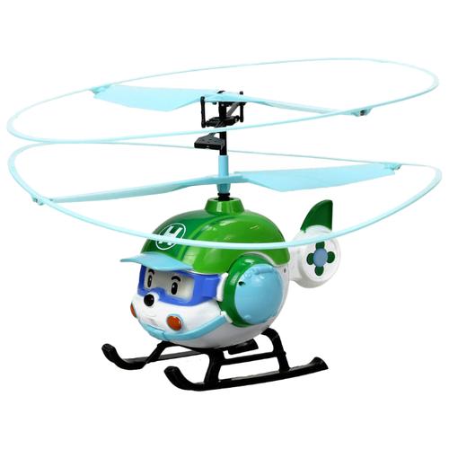 Фото - Вертолет Silverlit Robocar Poli Хэли (83390) 6 см белый/зеленый трансформер silverlit robocar poli почер зеленый красный
