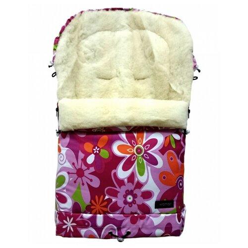 Конверт-мешок Womar Multi Arctic в коляску 83 см 14 цветки womar в коляску north pole черные белые цветки