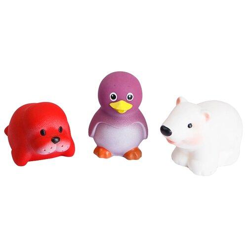Купить Набор для ванной ОГОНЁК Север (С-985) красный/фиолетовый/белый, Игрушки для ванной