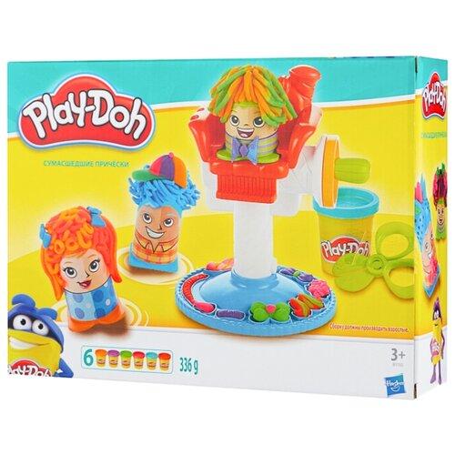 Масса для лепки Play-Doh Сумасшедшие прически (B1155), Пластилин и масса для лепки  - купить со скидкой