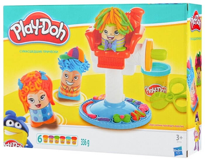 Масса для лепки Play-Doh Сумасшедшие прически (B1155)