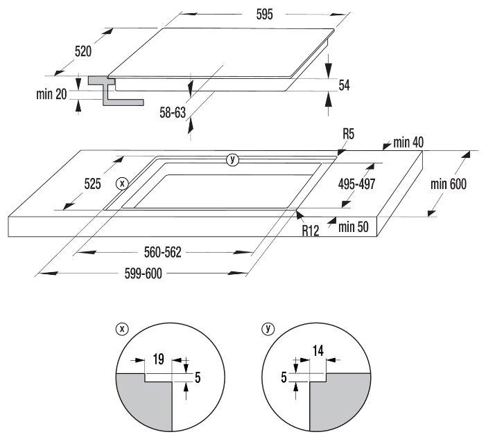 Электрическая варочная панель Gorenje IT 640 WSC