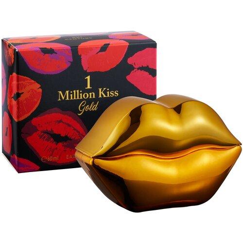 Туалетная вода Парфюмерия XXI века 1 Million Kiss Gold, 60 мл