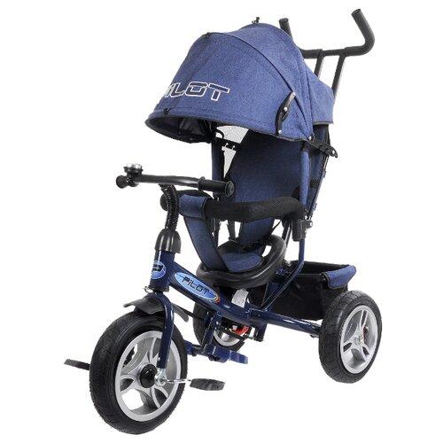 Купить Трехколесный велосипед Pilot PTA3/2019 синий, Трехколесные велосипеды