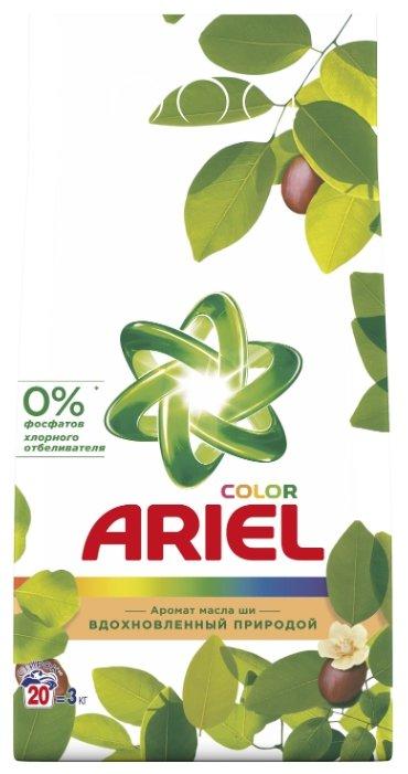 Стиральный порошок Ariel Color Аромат масла ши (автомат)