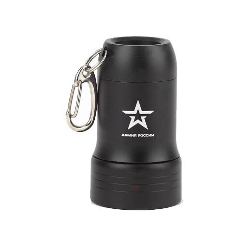 Ручной фонарь ЭРА Армия России BB-601 Привал черный