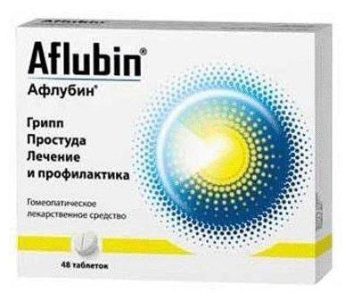 Афлубин таб. гомеопат. №48 — купить по выгодной цене на Яндекс.Маркете