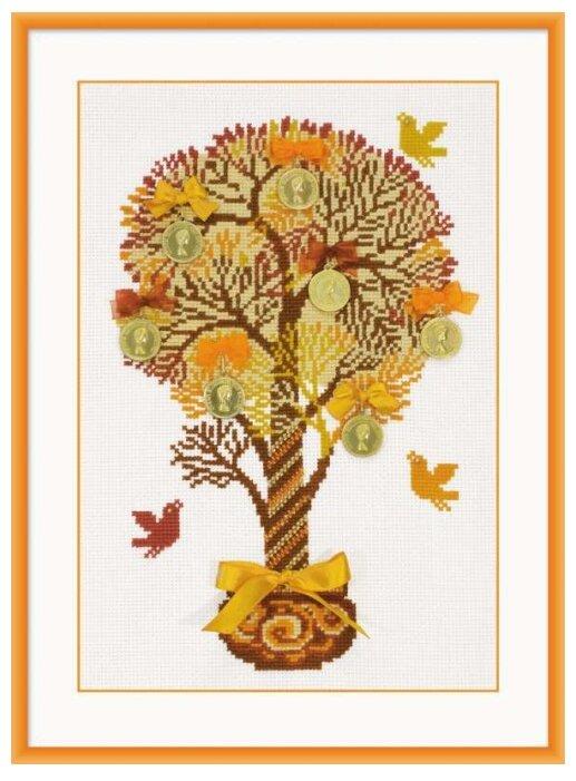 Риолис Набор для вышивания крестом Денежное дерево 21 x 30 (1294)