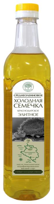Натуральные продукты Масло подсолнечное среднеолеиновое Холодная семечка
