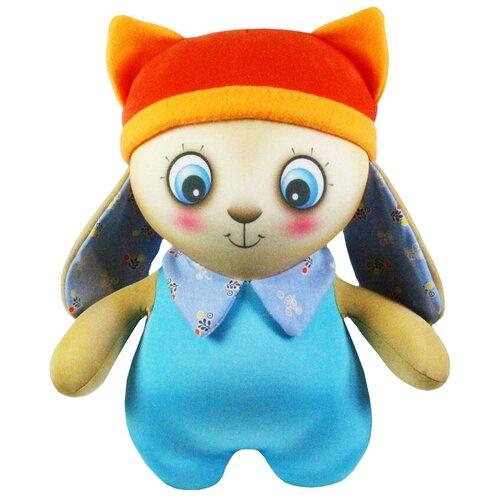 Купить Игрушка-антистресс Штучки, к которым тянутся ручки Зайка-малыш голубой 36 см, Мягкие игрушки