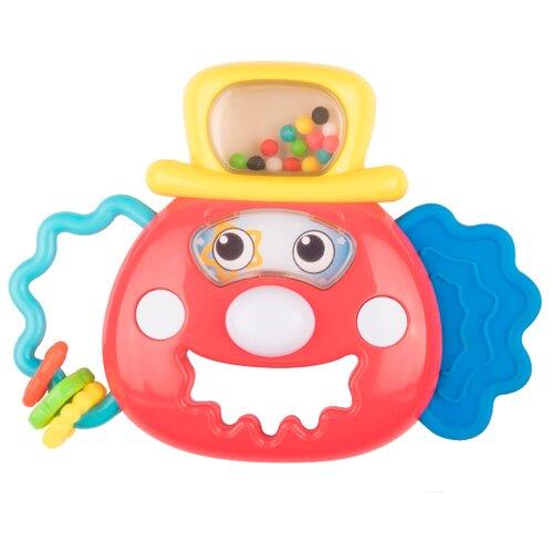 Погремушка Happy Baby Toddy красный happy baby 330058 игрушка погремушка keys of fun