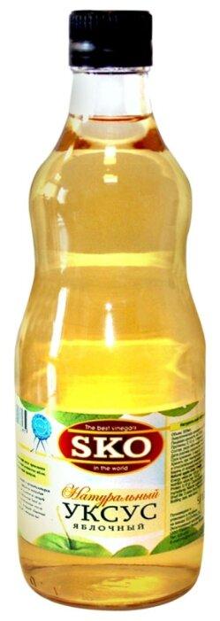 Уксус SKO яблочный 5%, стеклянная бутылка