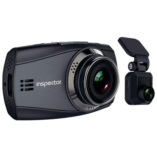 Видеорегистратор Inspector Cyclone, 2 камеры черный printio inspector