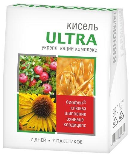 Кисель Гармония Витаминизированный ULTRA Укрепляющий комплекс порционный 140 г