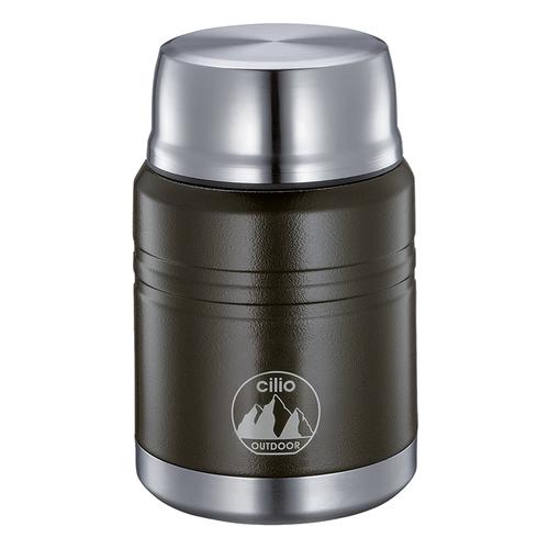 Термоконтейнер MONTE от Cilio, 0,5 л, d-9,5 см, h-15,5 см