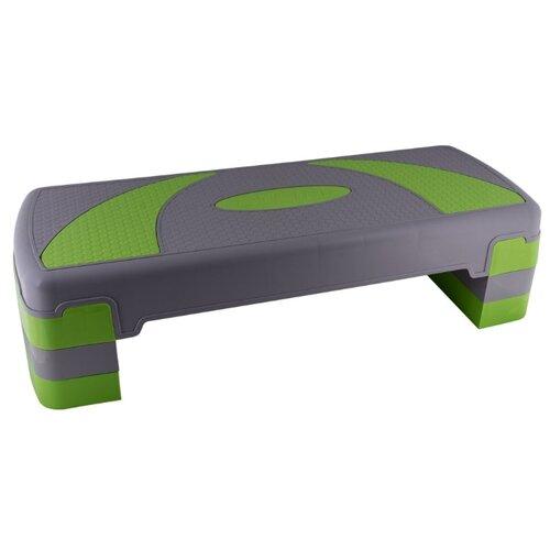 Фото - Степ-платформа ATEMI APS-02 серый/зеленый степ платформа proxima профессиональная fitness ft stp