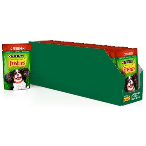 Влажный корм для собак Friskies ягненок 24шт. х 85г