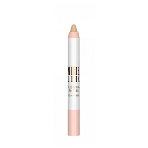 Golden Rose Консилер Nude Look Retouching Face Pen, оттенок 02 deep nude