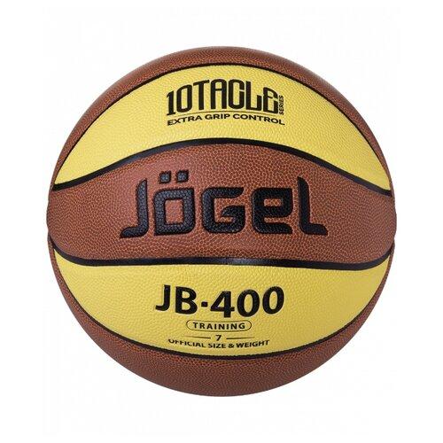 Баскетбольный мяч Jogel JB-400 №7, р. 7 коричневый мяч jogel jb 700 7 ут 00009331