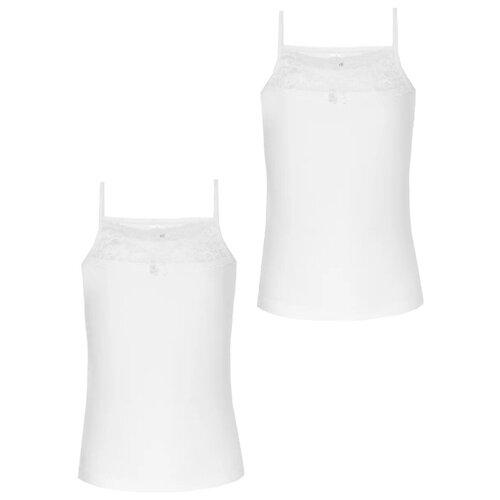 Купить Майка BAYKAR 2 шт., размер 110/116, белый, Белье и купальники