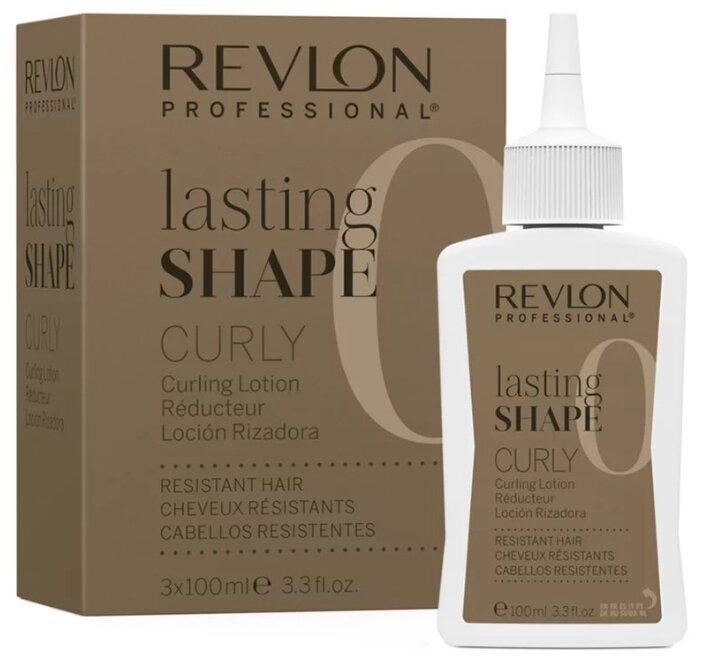 Revlon Professional Lasting Shape Curly Resistant Hair 0 Лосьон для химической завивки трудноподдающихся волос