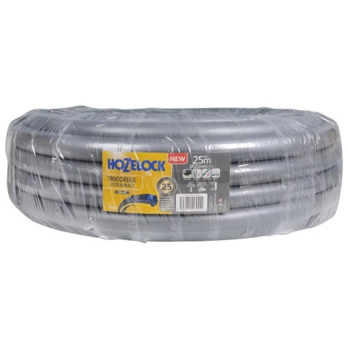 Шланг HOZELOCK Tricoflex Ultramax 1 25 метров серыйШланги и комплекты для полива<br>
