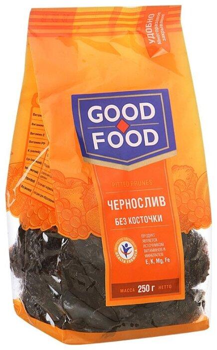 Чернослив Good Food сушеный без косточки, 250г