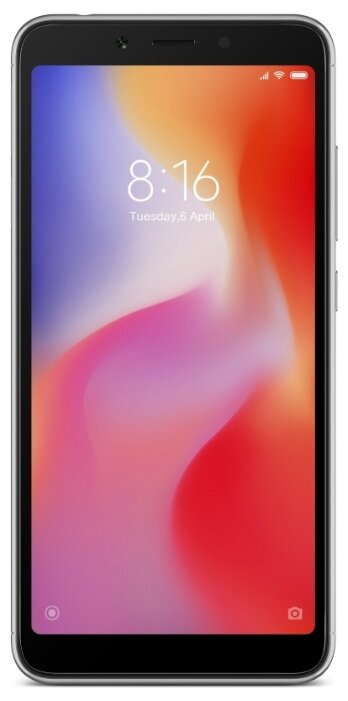 Смартфон Xiaomi Redmi 6A 2/16GB Grey (Серебристый)